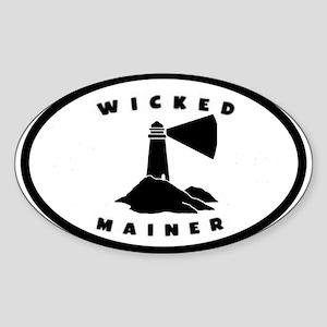 Wickedmainerlighth Sticker