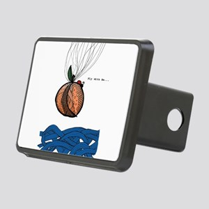 Fly With Me Rectangular Hitch Cover