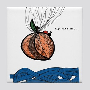 Fly With Me Tile Coaster