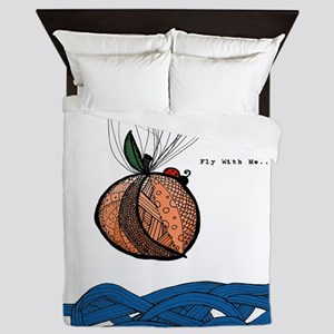 Fly With Me Queen Duvet