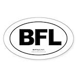 BFLO Oval Sticker