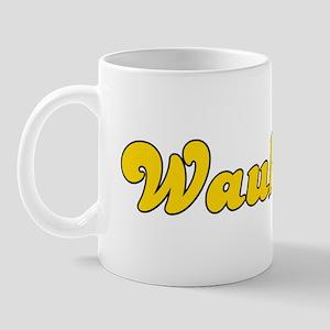 Retro Waukesha (Gold) Mug