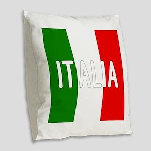 Italia Burlap Throw Pillow