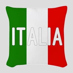 Italia Woven Throw Pillow