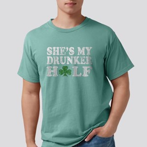She's my drunker Half St Patr Women's Dark T-Shirt
