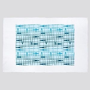 Blue Hues 4Kent 4' x 6' Rug