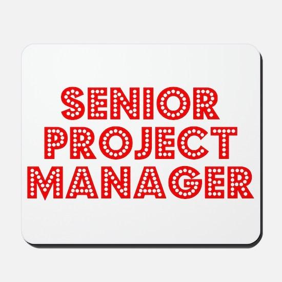 Retro Senior Proj.. (Red) Mousepad