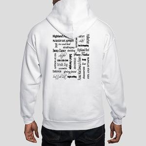 Highland Warmups WORDS Hooded Sweatshirt