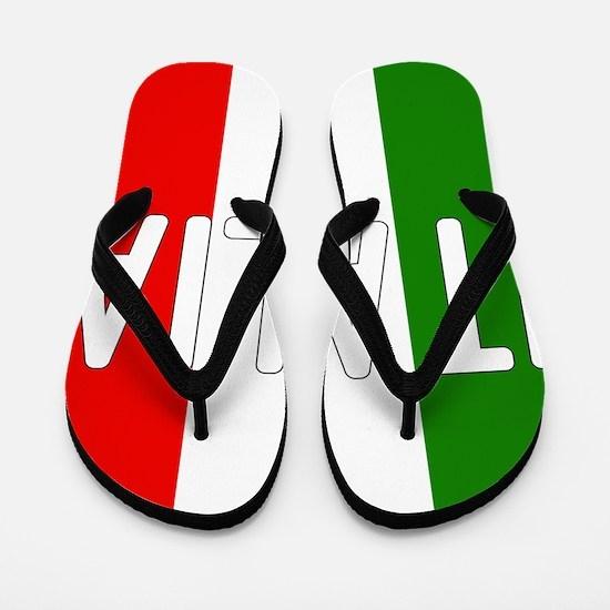 Italia Flip Flops