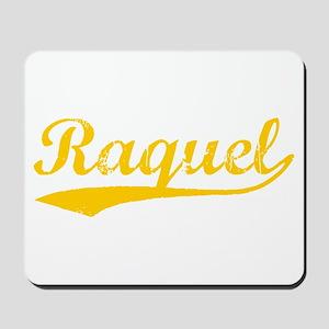 Vintage Raquel (Orange) Mousepad
