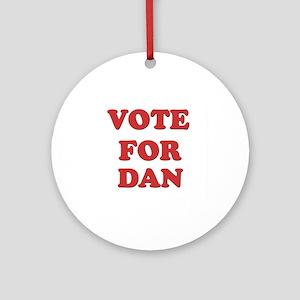 Vote for DAN Ornament (Round)