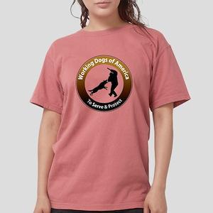 WDA Logo Wht text High res trans T-Shirt
