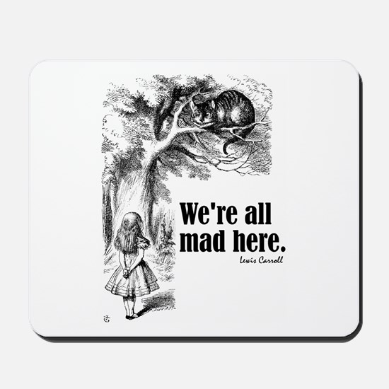 "Carroll ""All Mad"" Mousepad"
