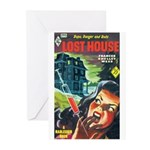 """Greeting (10)-""""Lost House"""""""