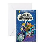 """Greeting (10)-""""How to Make Out on Campus&quot"""