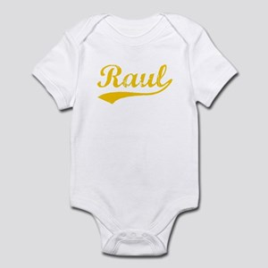 Vintage Raul (Orange) Infant Bodysuit