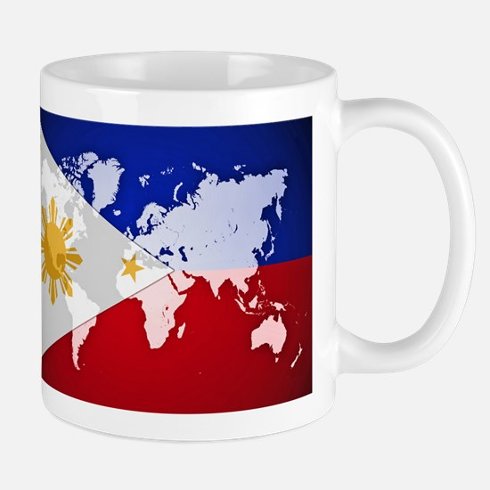 Filipinos Abroad World Mugs