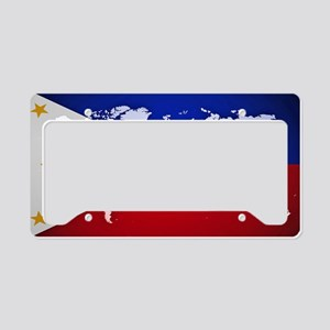 Filipinos Abroad World License Plate Holder