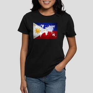 Filipinos Abroad World T-Shirt