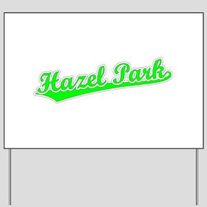 Retro Hazel Park (Green) Yard Sign