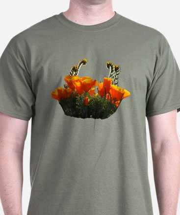 Helaine's Poppies 2 T-Shirt