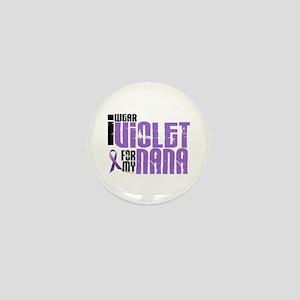 I Wear Violet For My Nana 6 Mini Button