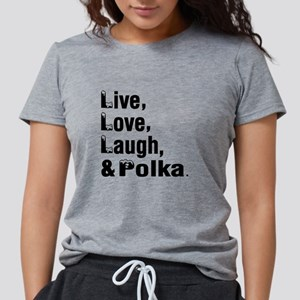 Live Love Polka Dance Designs T-Shirt