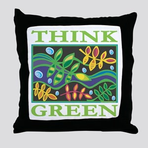 Environmental Throw Pillow
