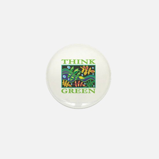 Environmental Mini Button