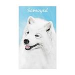 Samoyed Sticker (Rectangle 10 pk)