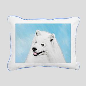 Samoyed Rectangular Canvas Pillow