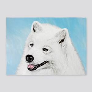 Samoyed 5'x7'Area Rug