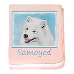 Samoyed baby blanket