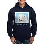 Samoyed Hoodie (dark)