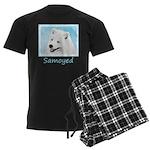 Samoyed Men's Dark Pajamas