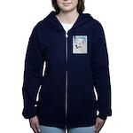 Samoyed Women's Zip Hoodie