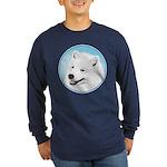 Samoyed Long Sleeve Dark T-Shirt