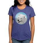 Samoyed Womens Tri-blend T-Shirt