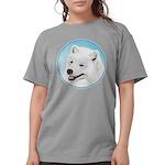 Samoyed Womens Comfort Colors Shirt