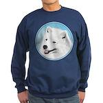 Samoyed Sweatshirt (dark)