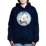 Samoyed Women's Hooded Sweatshirt