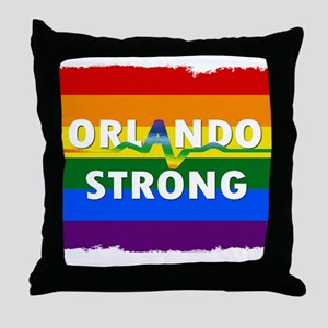 Orlando Strong Pulse Throw Pillow