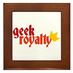 Geek Royalty Framed Tile
