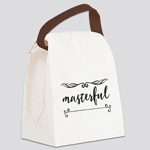 masterful Canvas Lunch Bag