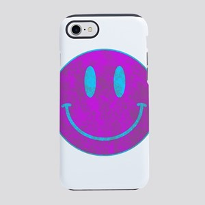 Happy FACE Turq EYES iPhone 8/7 Tough Case