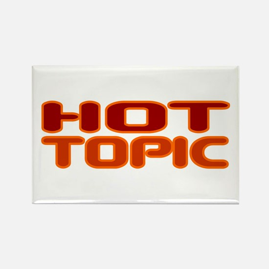 Hot Topic Rectangle Magnet