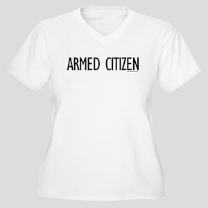 Armed Citizen Women's Plus Size V-Neck T-Shirt