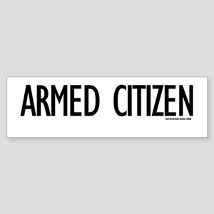 Armed Citizen Bumper Sticker