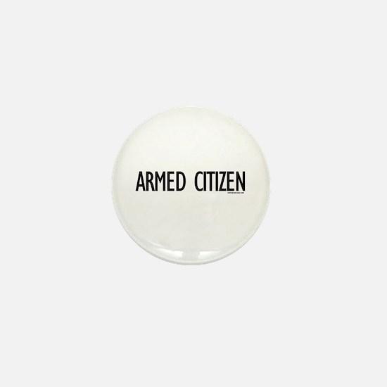 Armed Citizen Mini Button
