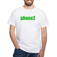 Phase 2 White T-Shirt